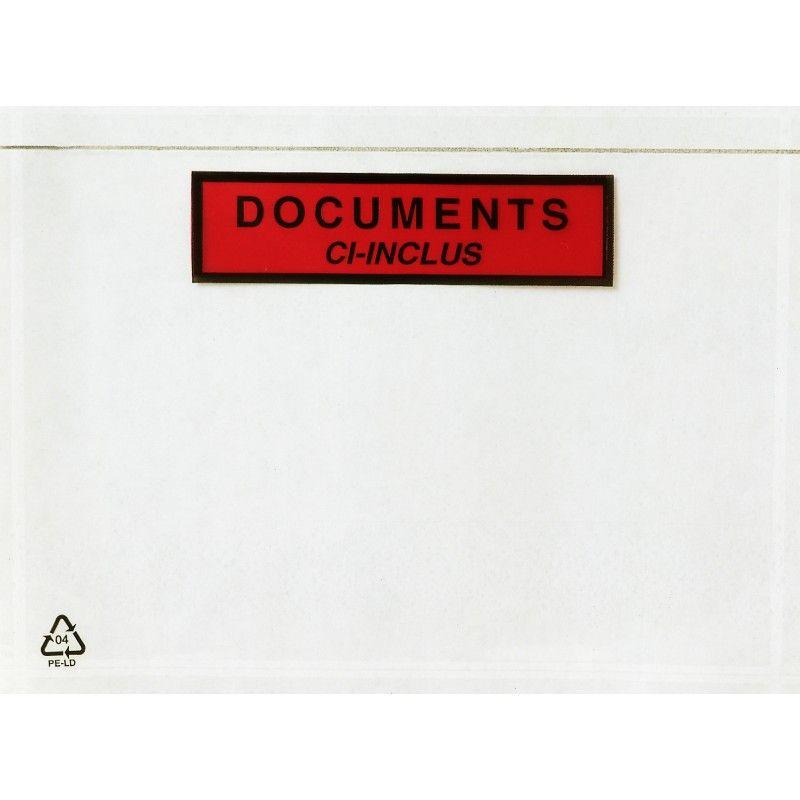pochette porte document haute adhesivite