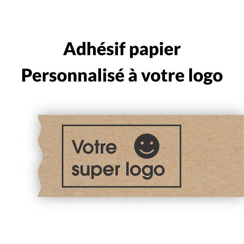 adhesif papier personnalise