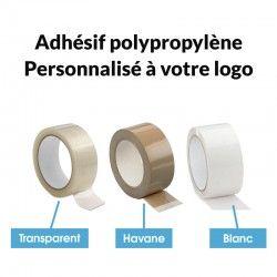 Adhésif polypropylène Personnalisé