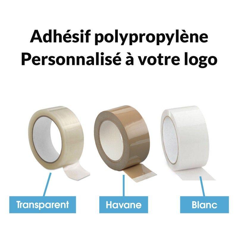 adhesif polypropylene personnalise