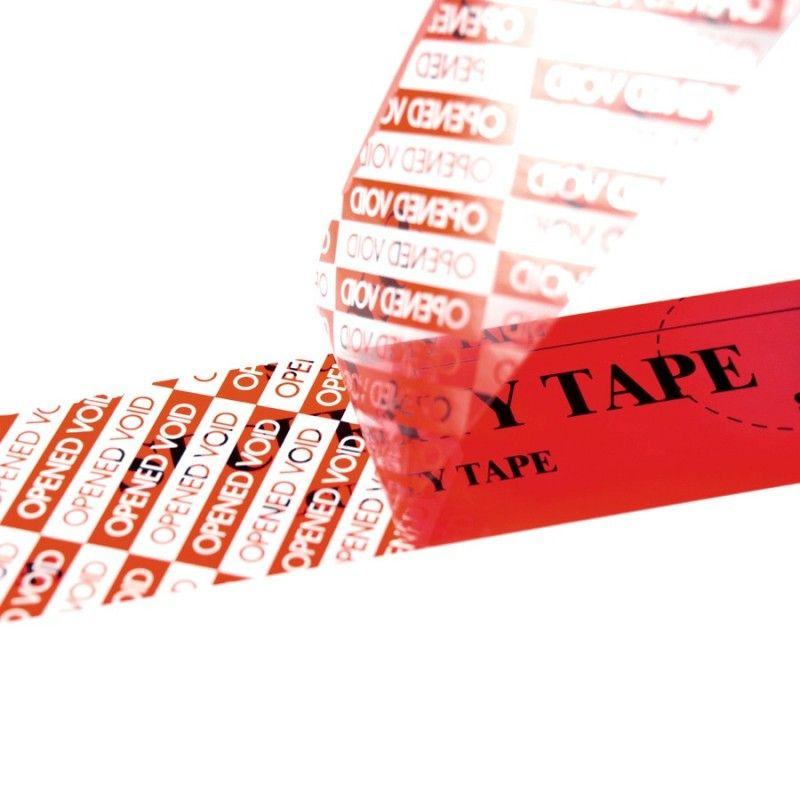 adhesif haute securite imprime security tape décollé