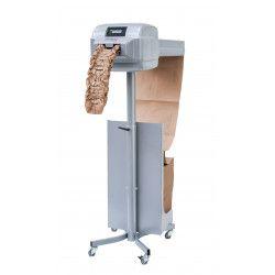Papier et machine pour moyens et grands colis